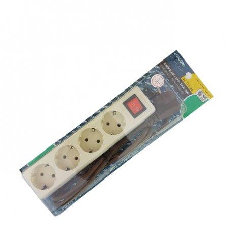 UTICON Stop Kontak 4g Plus Kabel On Off St-1482
