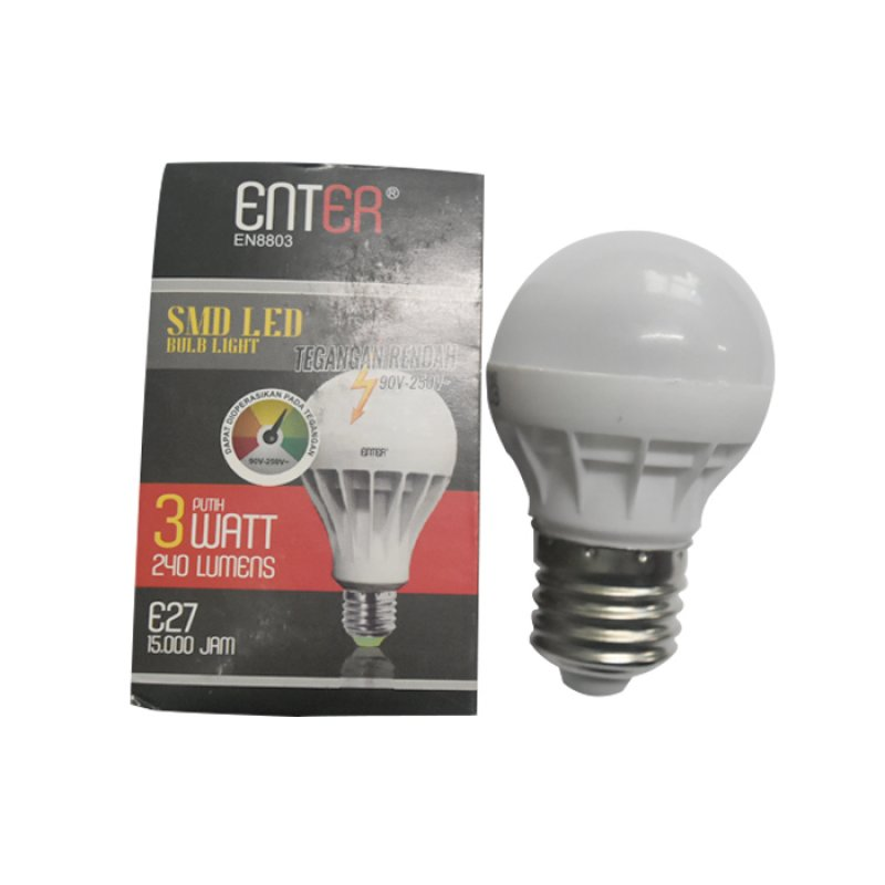 Enter Lampu LED 3W E...