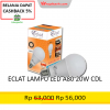 ECLAT LAMPU LED A80 20W CDL