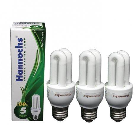 Hannochs Lampu Essential Green 2u 5w Cdl - 3pcs