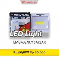 Emergency Saklar Mitsuyam...