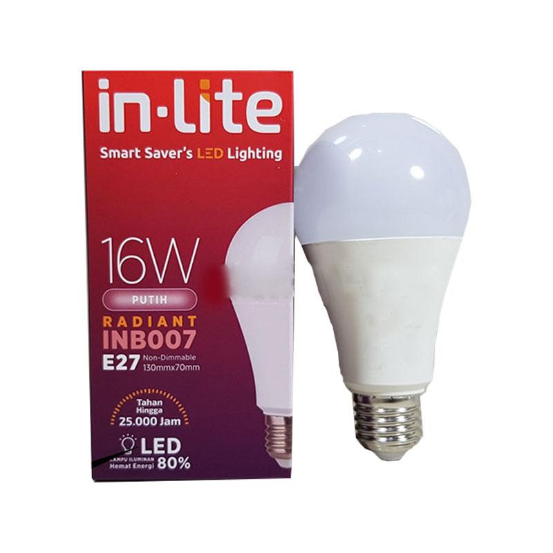 LAMPU LED 16W PUTIH ...