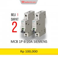 MCB 1P  6-20A SIEMENS