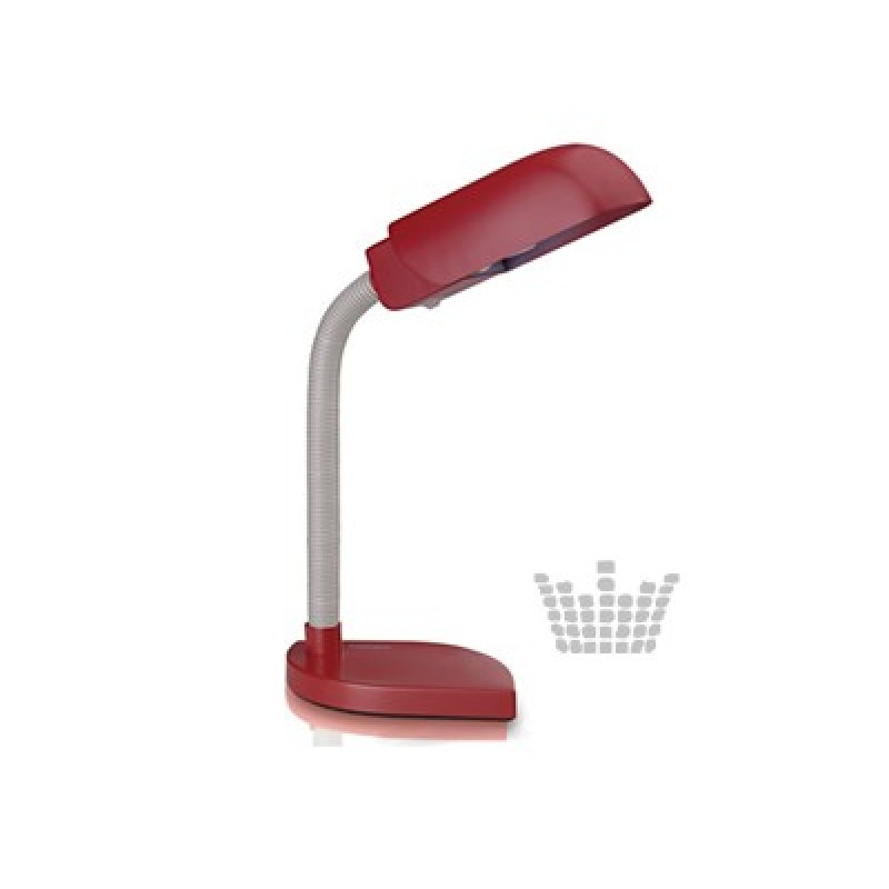 BILLY red Table lamp
