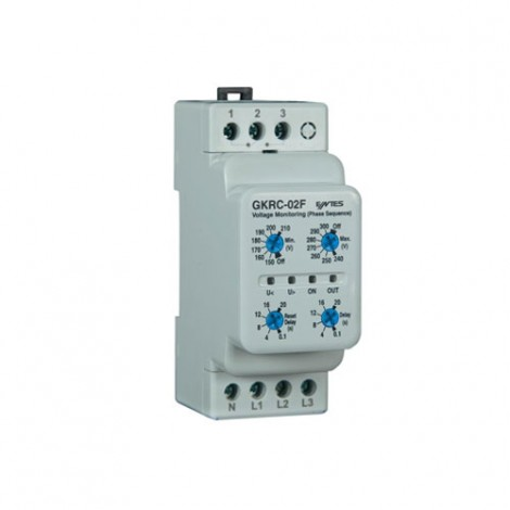 Entes 3Phase/4Wire Under/Over Volt Protection GKRC02F