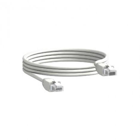 Schneider 10 RJ45/RJ45 male cord L = 0.3 m TRV00803