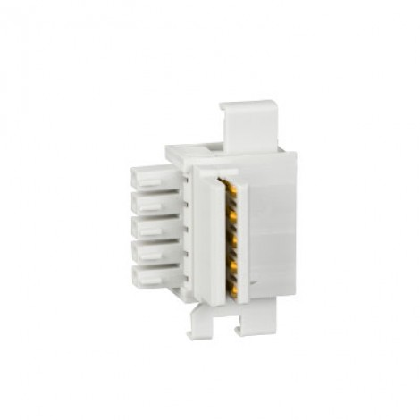 Schneider 10 stacking connector untuk interface komunikasi TRV00